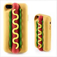 大亨堡3D熱狗新造型手機殼