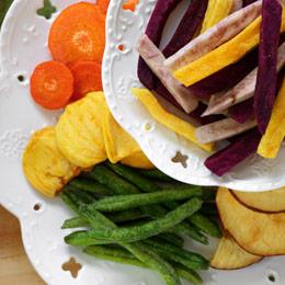 超人氣蔬果脆片★五種健康脆片一次入手