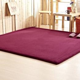 日系款 纖細超厚珊瑚絨地毯(130*190)