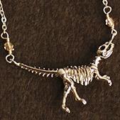 侏儸紀時代暴龍化石項鍊