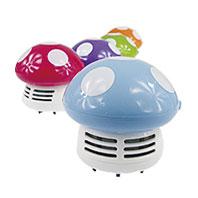 可愛香菇桌上型吸塵器