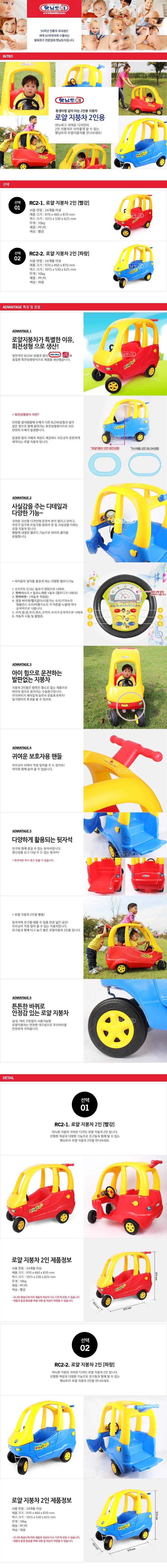 Haenim (Korea) Kiddy Roof Car - Double