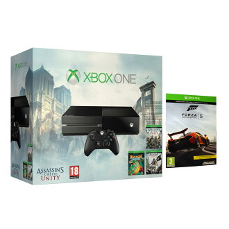 15% de descuento en la Consola XBOX ONE + Pack Assassin's Creed + Forza Motorsport 5