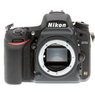Cámara reflex Nikon D750 Cuerpo negro
